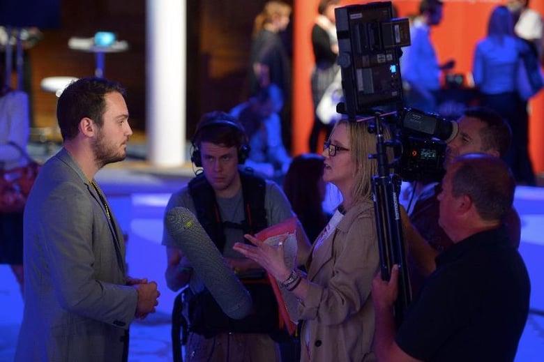 Adam being interviewed.jpg