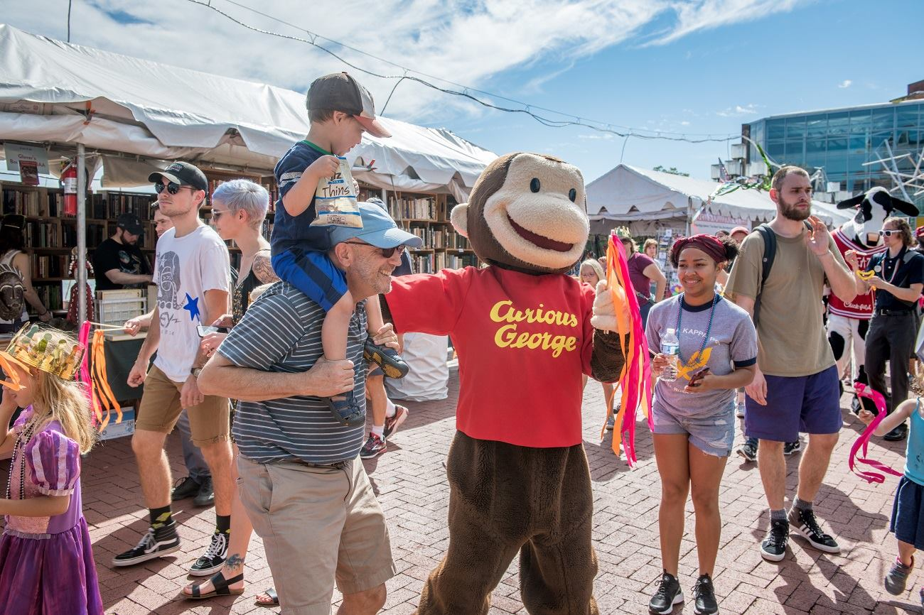 Baltimore Book Festival - Curious George