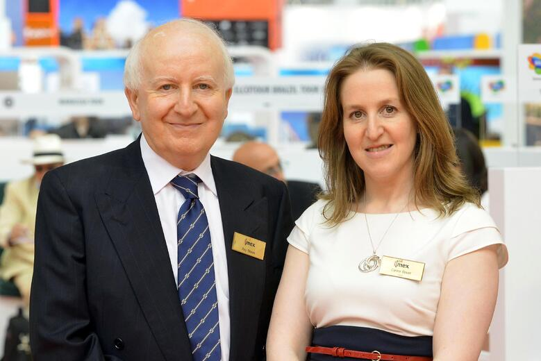 Behind the meetings industry IMEX CEO Carina Bauer