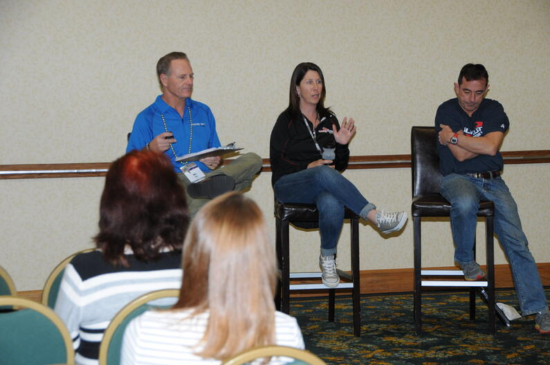 Christine Bowen - Mike Reilly - Dave McGillvray at RunningUSA