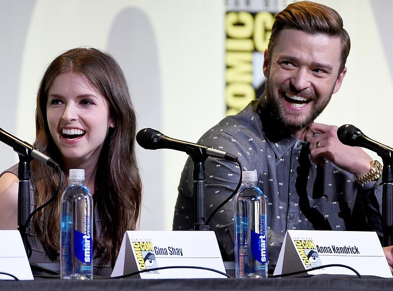 Justin Timberlake & Anna Kendrick at Comic-Con - The Celebrity Auction.jpg