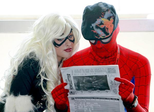 Spider Man San Jose Mercury News - Production of Comic-Con David Glanzer