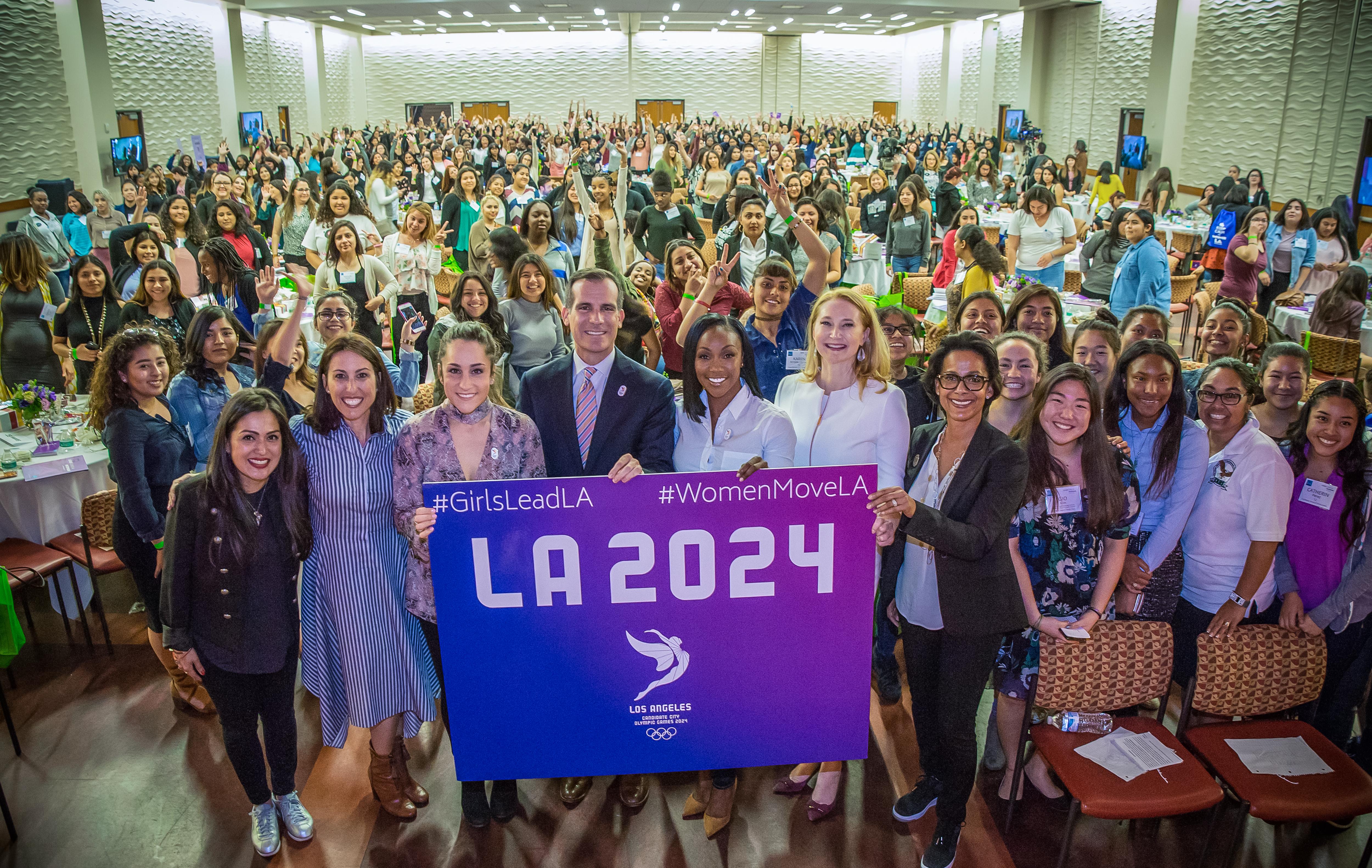 LA 2024 Olympic and Paralympic Bid Process - LA 2024 Community Engagement
