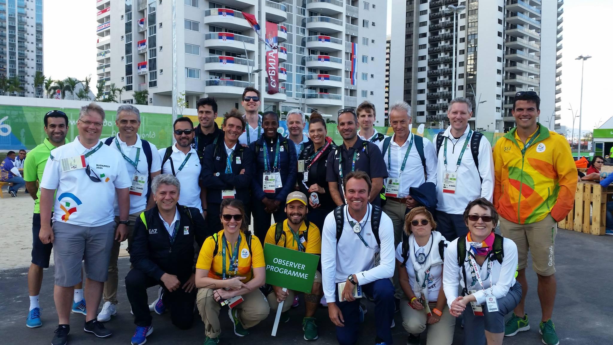 LA 2024 Olympic and Paralympic Bid Process - Rio Observer program