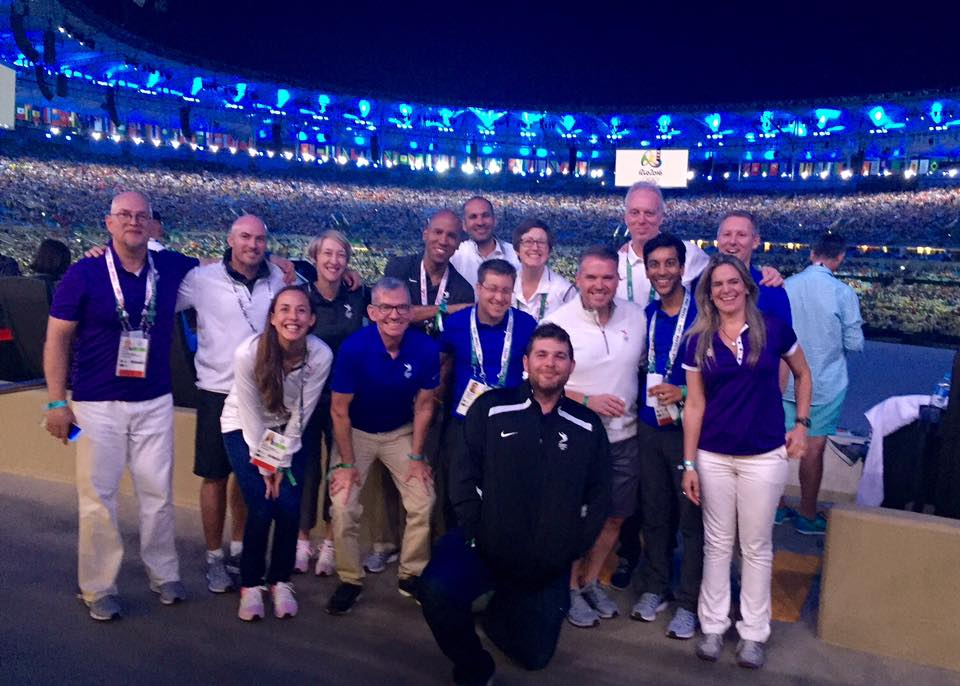 LA 2024 Olympic and Paralympic Bid Process - The LA 2024 Team at the Opening Ceremony in Rio