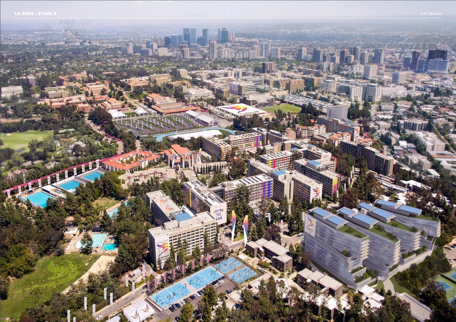 LA 2024 Olympic and Paralympic Bid Process - LA 2024 Athlete Village Rendering