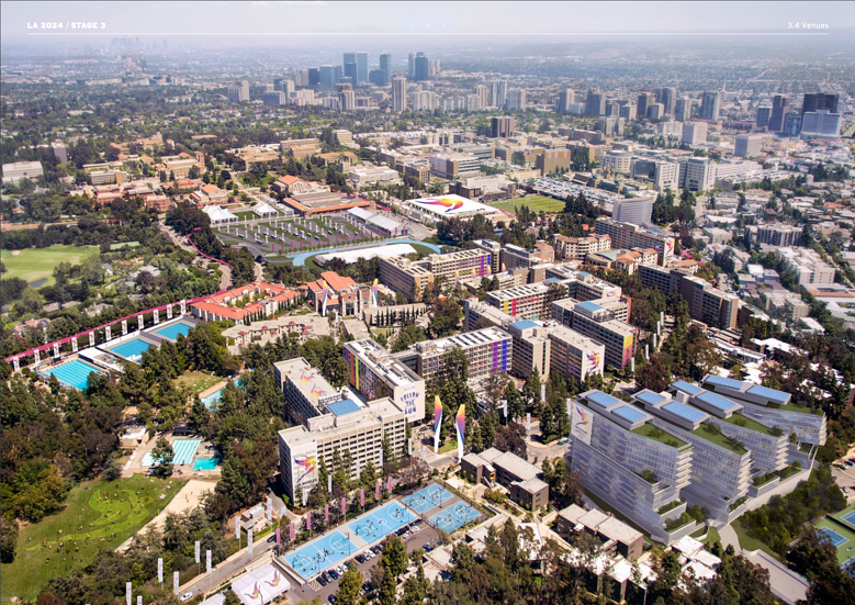 LA 2024 Olympic and Paralympic Bid Process - LA 2024 Athlete Village Rendering