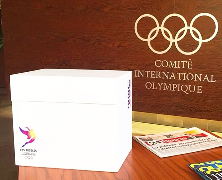 LA 2024 Olympic and Paralympic Bid Process - Bid Box