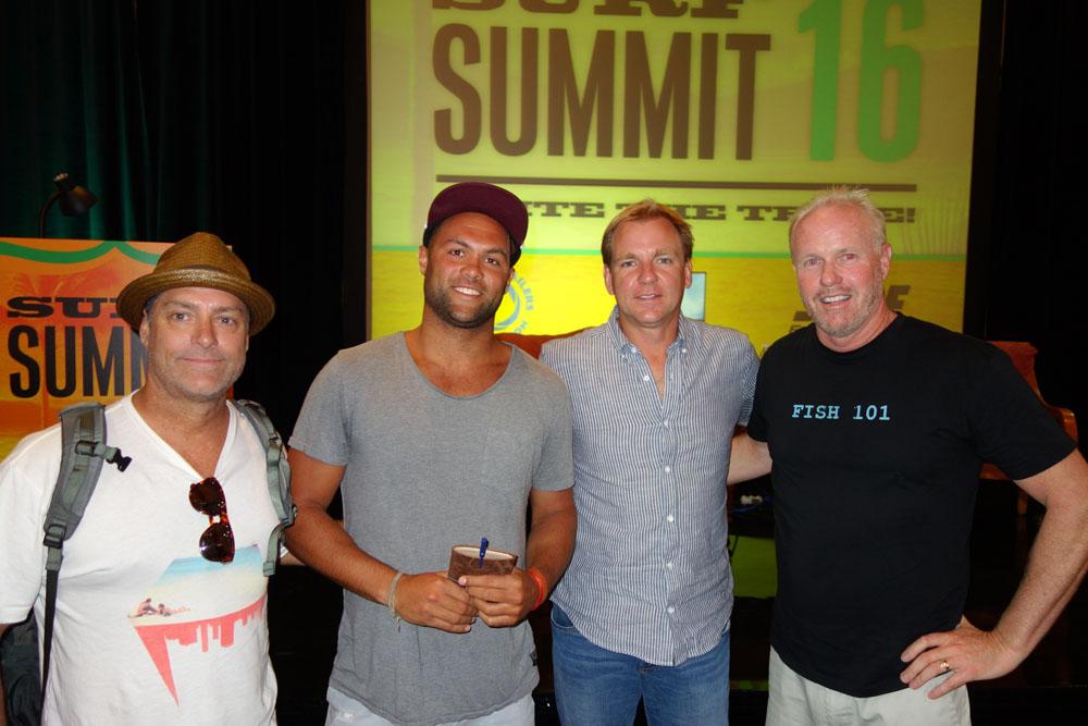 Surf Summit Scott Desiderio of TEN