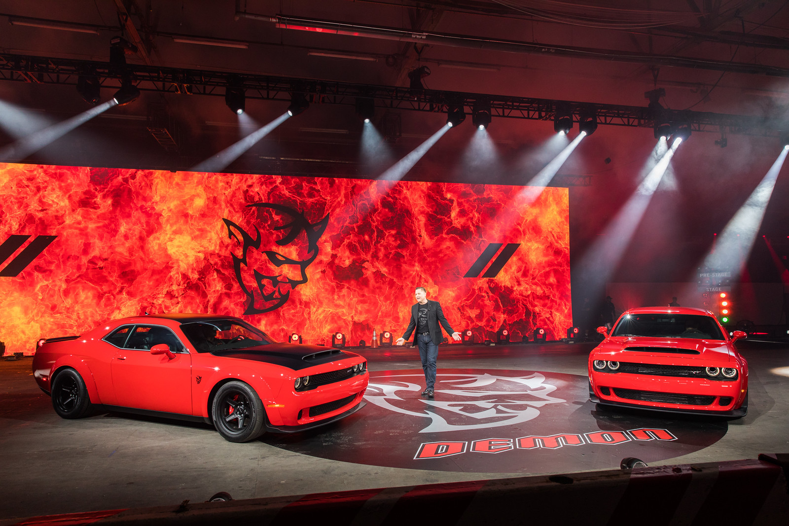 Dodge Demon Launch