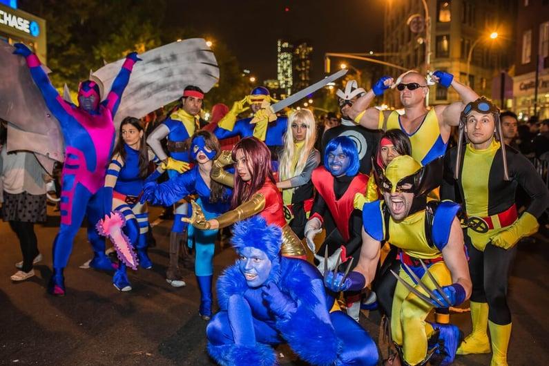 Village Halloween Parade Costumes