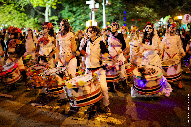 Village Halloween Parade Batala NYC