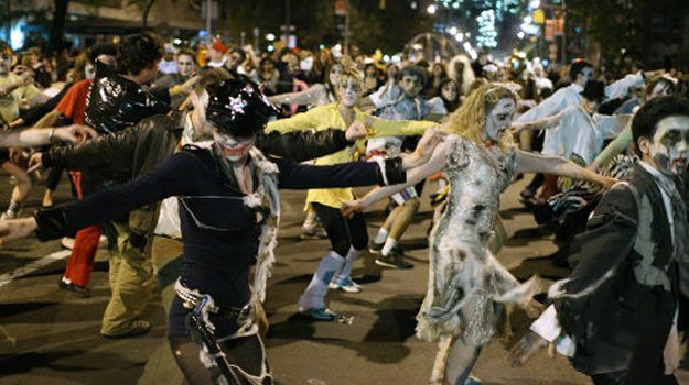 Greenwich Village Halloween Parade Thriller Performance