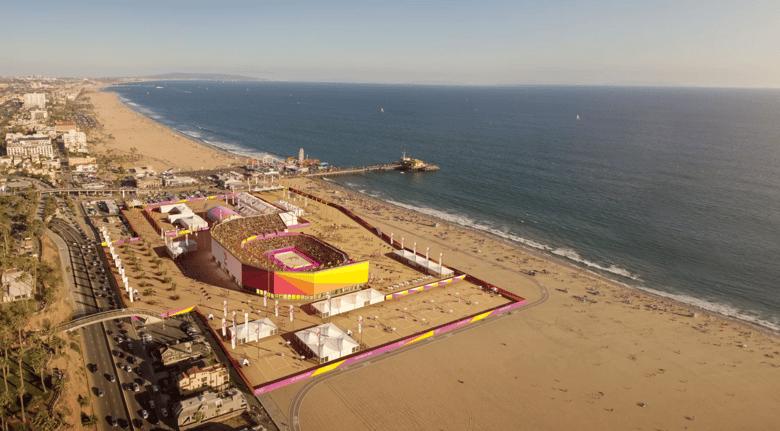 LA2024 Beach Volleyball