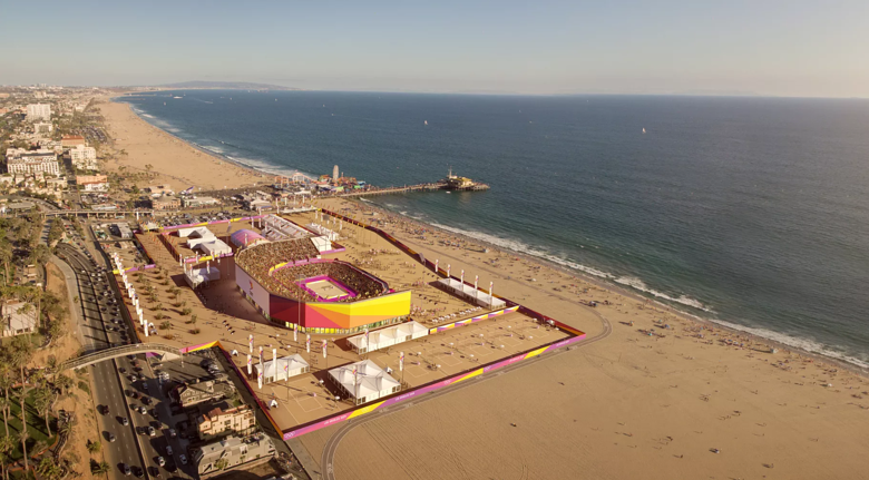LA2024 Beach Volleyball