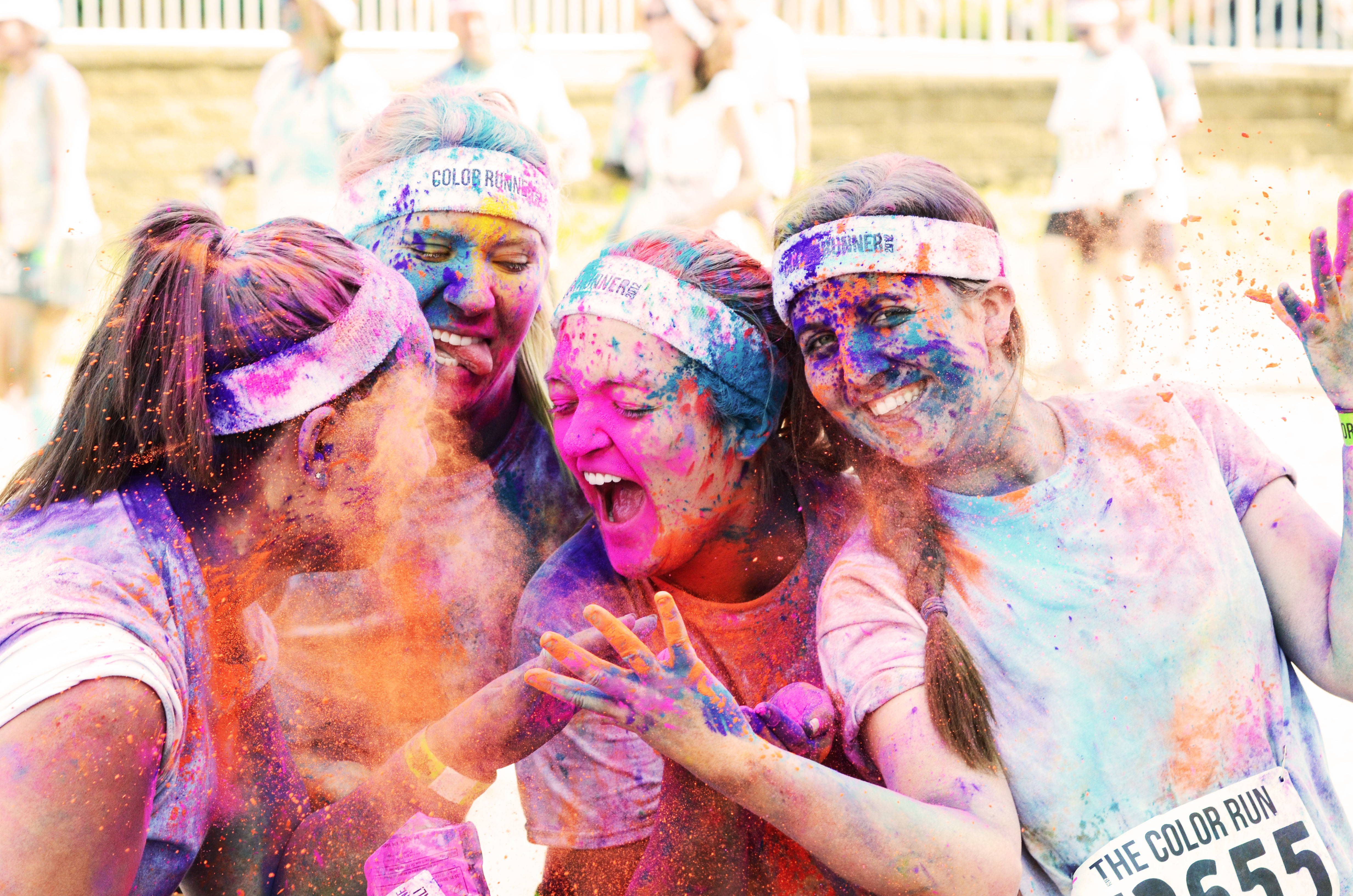 Happiest 5K on Earth The Color Run