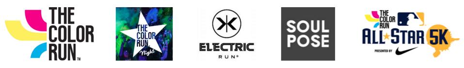 The Color Run Logos