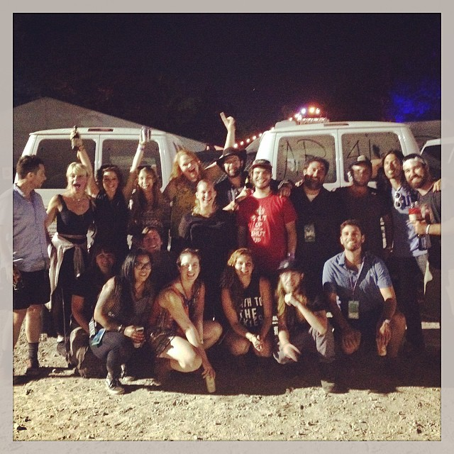 Bonnaroo Artist and Transporation Teams with Kat Tooley