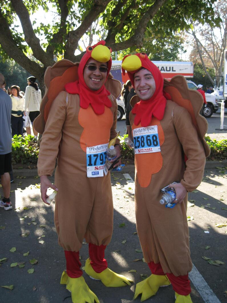 Run to Feed the Hungry Costumes