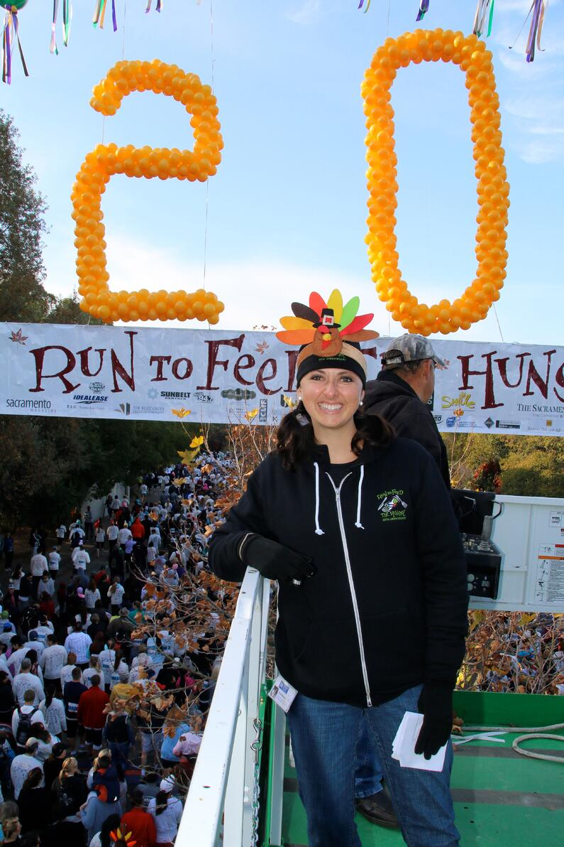 Run to Feed the Hungry Start Line