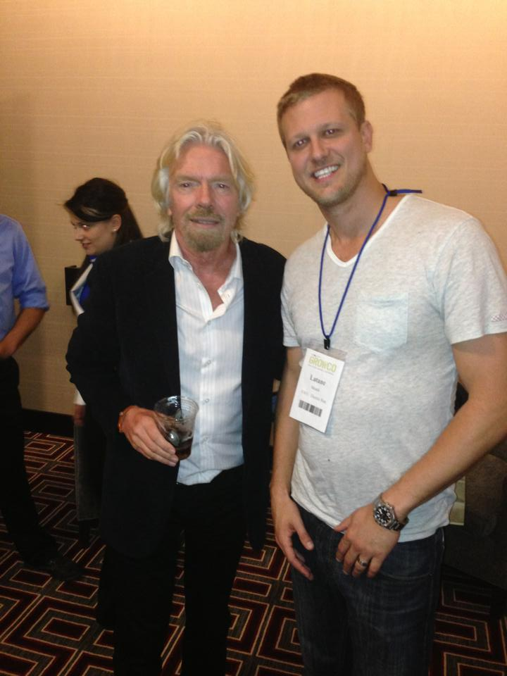 Richard_Branson and Latane Meade