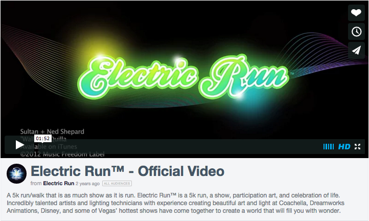 Electric Run Video