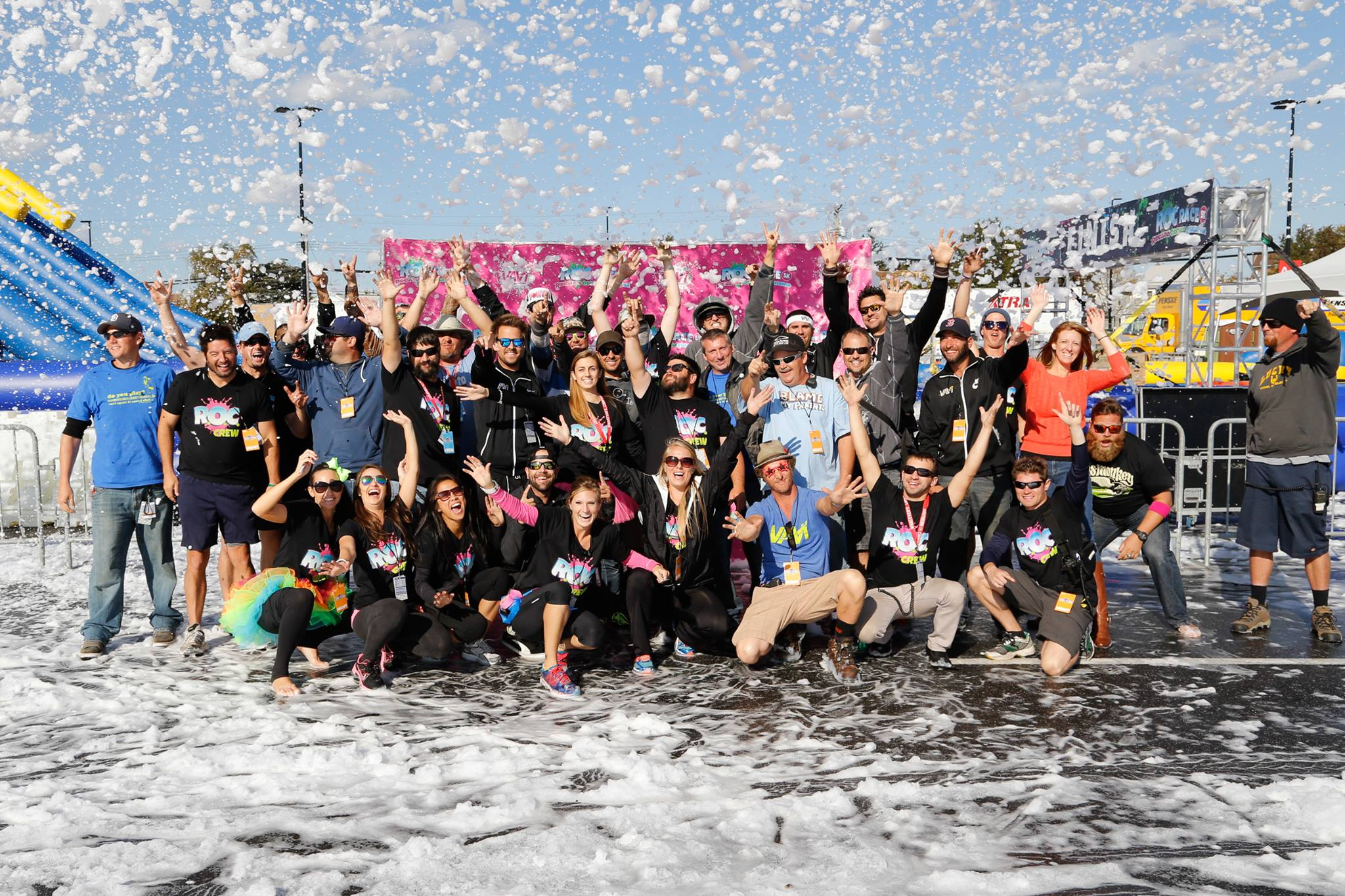 Wipeout Run Event Series Team