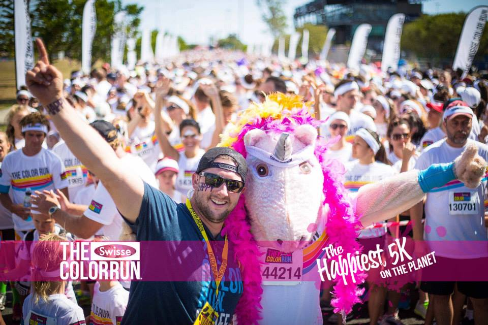 Color Run Front with Luke Hannan