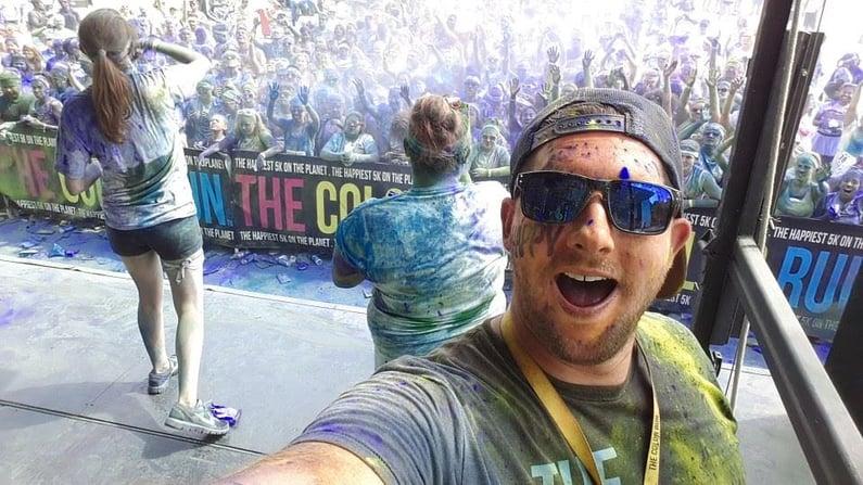Color Run Australia Selfie