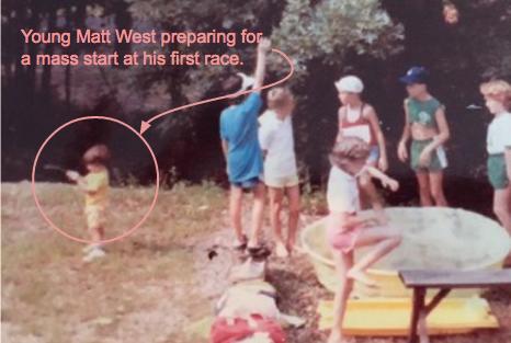 Matt West's First Triathlon