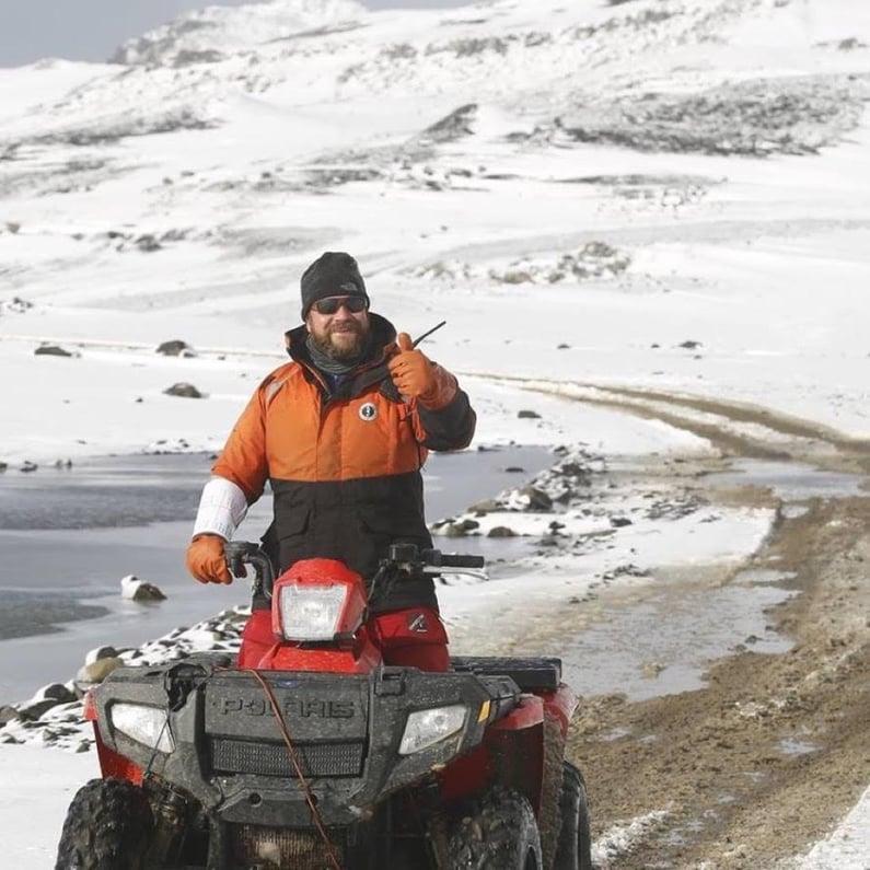 Course Preparation at the Antarctica Marathon