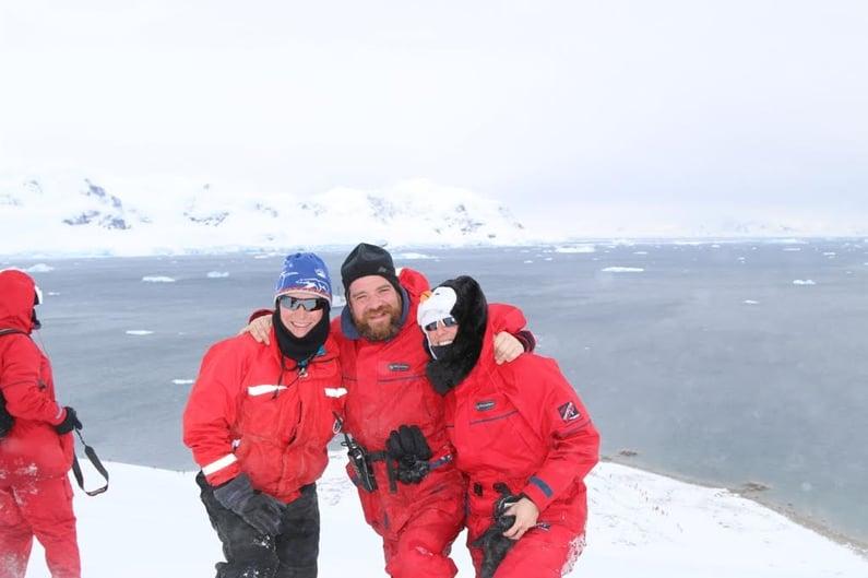 Antarctica Marathon Team