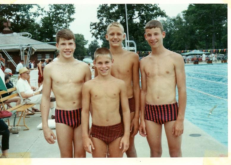 Murphy Reinschreiber Conqur Enduarance Group as a young swimmer