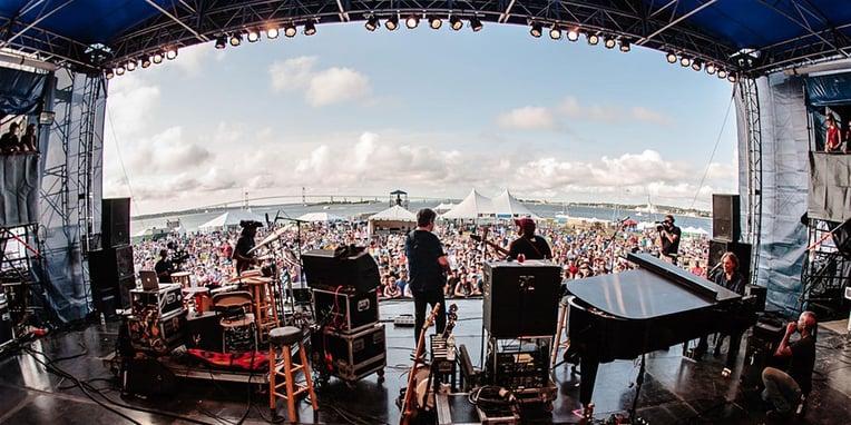 Newport Festival Stage