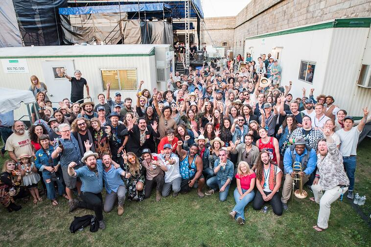 Newport Folk groupshot