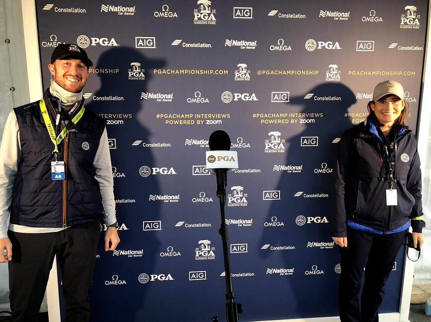 Pat & Liz PGA Champ 2020 2