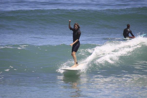 Tina Wilmott Surfing