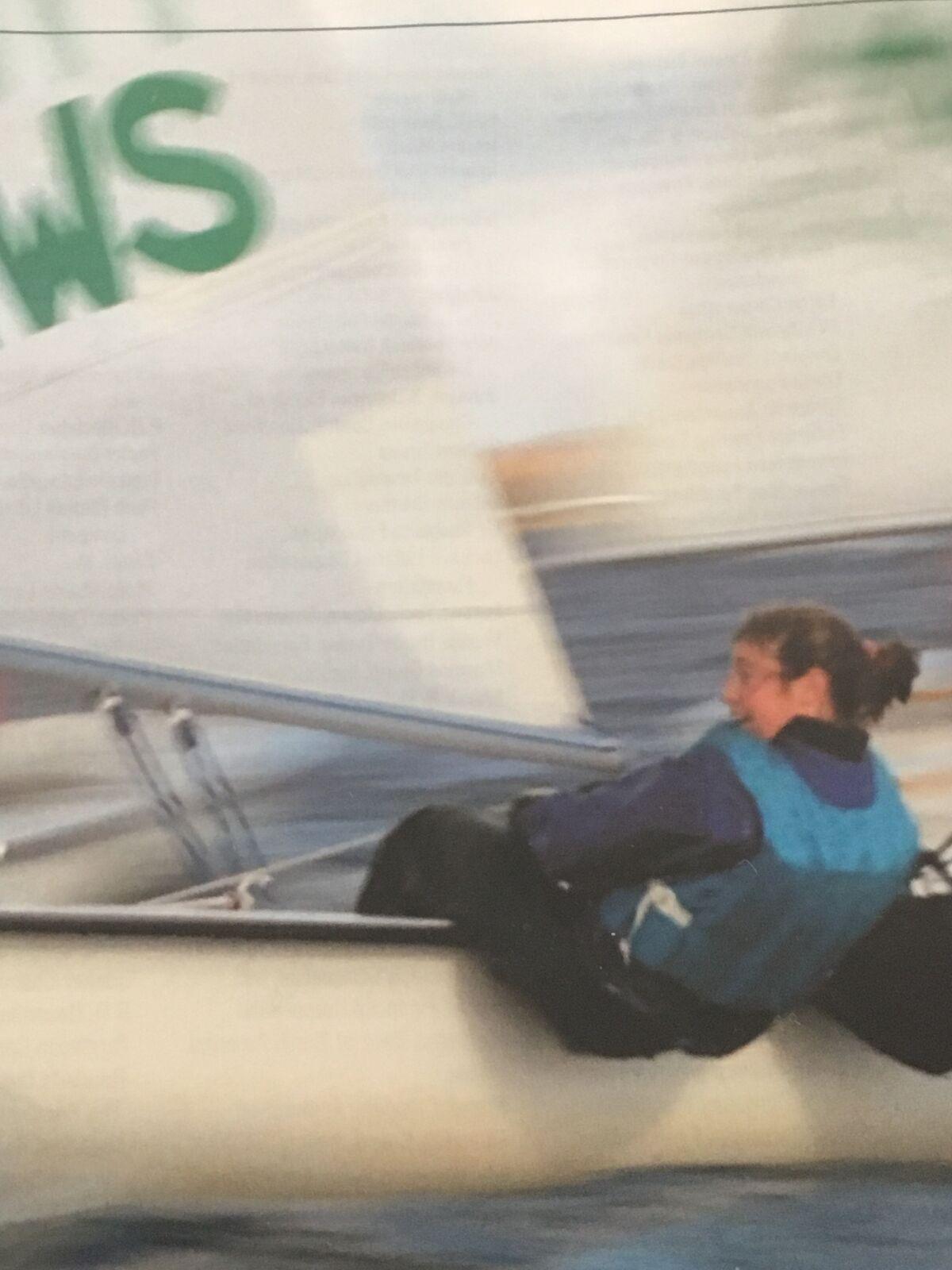 Hobart and William Smith College Sailing Team - Sarah racing.jpg